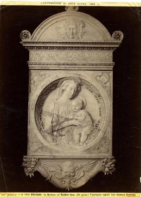 Fratelli Alinari, Bologna, Contessa Grabinsky, Tabernacolo con Madonna col Bambino, secolo XV, albumina/carta, CC BY-NC-ND