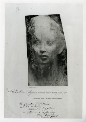 Rosso, Medardo, Impression Portait Enfant Emile Mond, 1908, procedimento fotomeccanico, CC BY-NC-ND