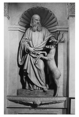 Orlandini, Umberto, Mantova, San Benedetto Po', Abbazia del Polirone, Begarelli, Antonio, San Simeone, Gelatina bromuro d'Ag/ carta, CC BY-NC-ND