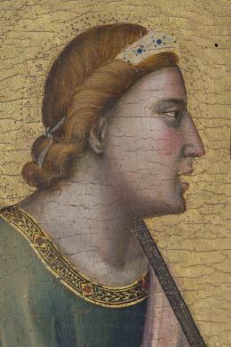 Mondadori, Bologna, Pinacoteca Nazionale, Giotto, Polittico (part.), born digital, CC BY-NC-ND