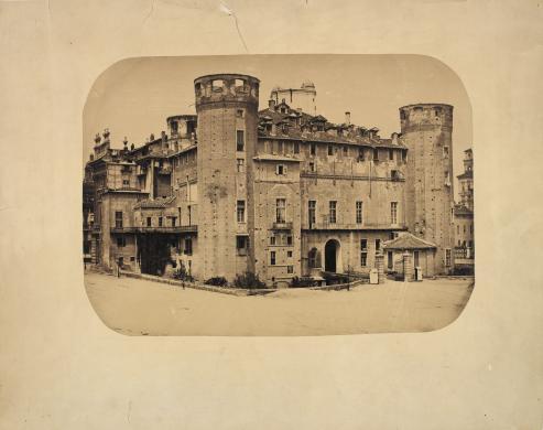 anonimo, Piazza Castello Torino, albumina, CC BY-SA