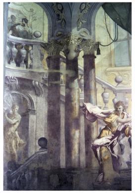 Gigli, Attilio, Parma, Pal. Cantelli, Veduta prospettica in esterno, trasparenza colore/ pellicola, CC BY-NC-ND