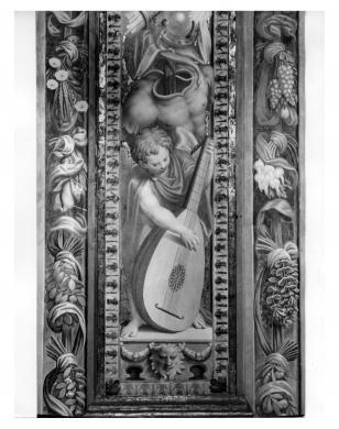 Foto Fazioli, Cremona, Cremona, San Sigismondo, Antonio Campi, Putto, decorazione della navata centrale, gelatina/carta, CC BY-NC-ND