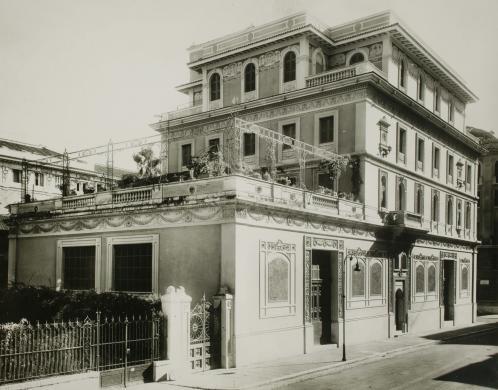 Andersen, Hendrik C., Casa-museo Hendrik C. Andersen, prospetto da via Pasquale S. Mancini, CC BY-NC-SA