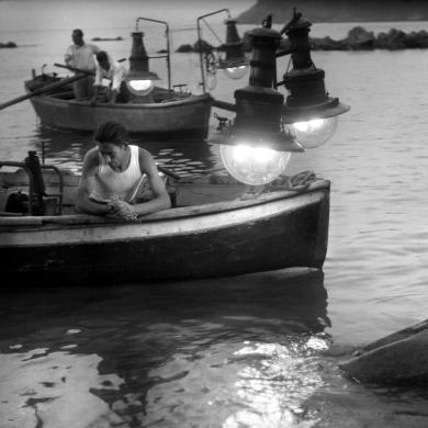 Parisio, Giulio, Pesca con le lampare, pellicola6x9, particolare, CC BY-SA