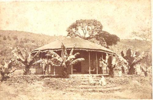 ..., La capanna di Apenzeller a Entotto (ora Addis Abeba), stampa all'albumina, CC BY-SA
