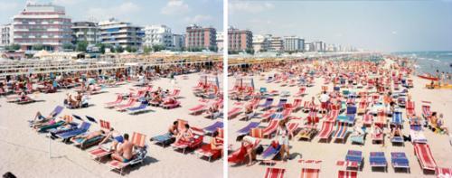 Vitali, Massimo, Riccione Red Bikini, C print, CC BY-SA