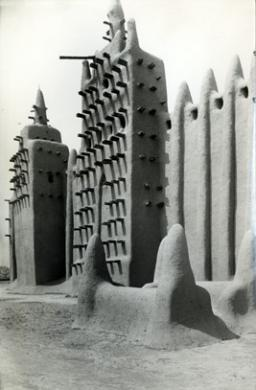 Leidi, Carlo, Moschea a Djenne, Mali, stampa ai sali d'argento, CC BY-SA