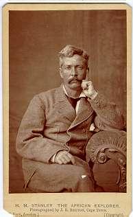 Bruton, J.E. - Capetown, Henry Morton Stanley, carte de visite - stampa all'albumina, CC BY-SA