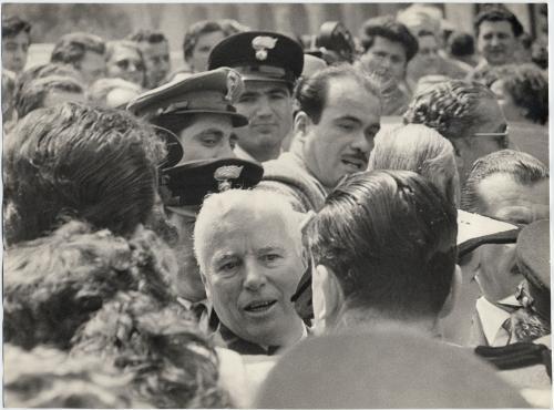 Cisventi, Carlo, Charlie Chaplin in Italia, Roma, stampa ai sali d'argento, CC BY-SA