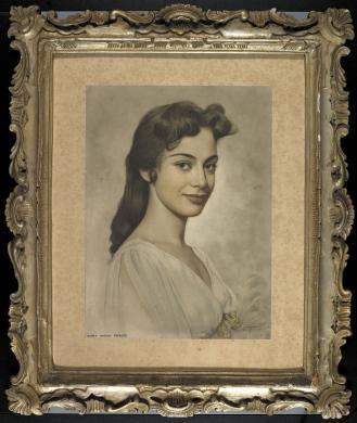 Cagliero, Ernesto, Ritratto dell'attrice Anna Maria Ferrero, carta/gelatina, CC BY-SA