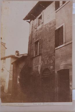 Tuminello, Ludovico, [Roma - casa della Fornarina presso Porta Settimia], Stampa all'albumina, CC BY-NC-SA