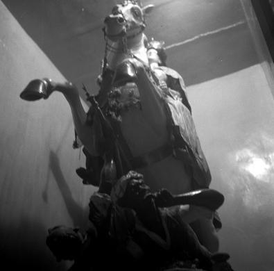 Crocenzi, Luigi, Madonna a cavallo, Scicli, da Conversazione in Sicilia, edizione illustrata, stampa ai sali d'argento, CC BY-SA