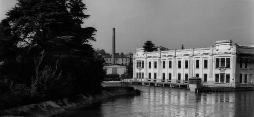 Basilico, Gabriele, Cassano d'Adda. Centrale idroelettrica Ing. Pietro Rusca, gelatina bromuro d'argento / carta, CC BY-NC-ND