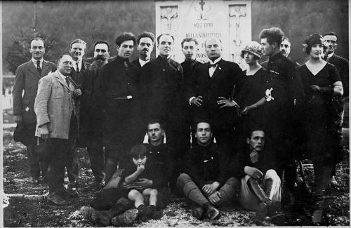 Krivec, Francesco, Mussolini a Udine, negativo, CC BY-NC-ND
