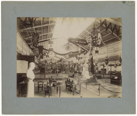 anonimo, Galleria dell'elettiricità all'Esposizione Generale del 1884, 1898, albumina, CC BY-SA