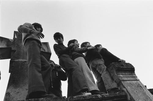 Del Mistro, Orio, I funerali di Pierpaolo Pasolini, Casarsa della Delizia (Pn), stampa ai sali d'argento, CC BY-SA