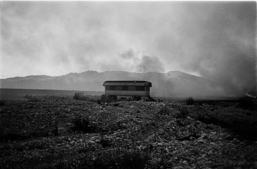 Orio Del MIstro, Paesaggio della Valcellina, stampa ai sali d'argento, CC BY-SA