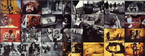 Gasparini, Paolo, El Rostro Barrido (particolare del fotomurale), stampa ai sali d'argento e cibachrome, fotomurale, CC BY-SA