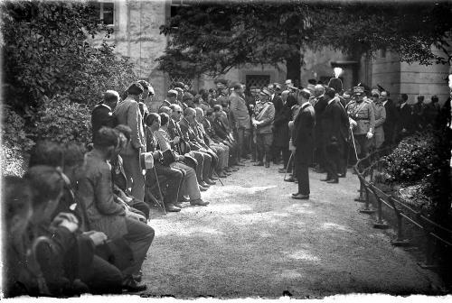 Krivec, Francesco, Il Re Vittorio Emanuele III a Udine, negativo, CC BY-NC-ND