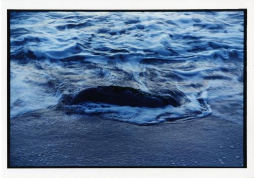 Hammacher, Arno, Atlantico, Portogallo, Estremadura. La marea sta salendo all'imbrunire, stampa cromogenica / carta / cornice, CC BY-NC-ND
