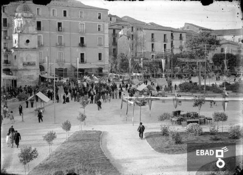 Gallotta, Luigi, Piazza della Repubblica, già piazza Francesco Spirito ad Eboli (Sa), Lastra di vetro con sali d'argento, CC BY-NC-ND
