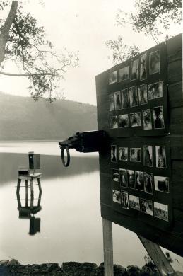 Guido Ucelli, Lago di Nemi - Cantiere per il recupero delle navi, Gelatina ai sali d'argento, CC BY-SA
