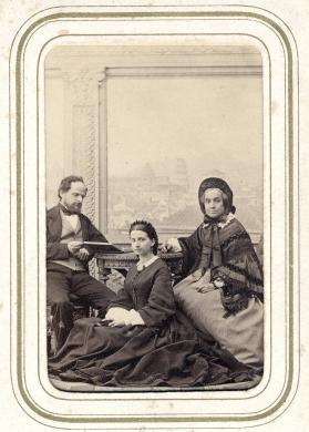 La famiglia di Tito Chiesi, Albumina/ carta, CC BY-SA