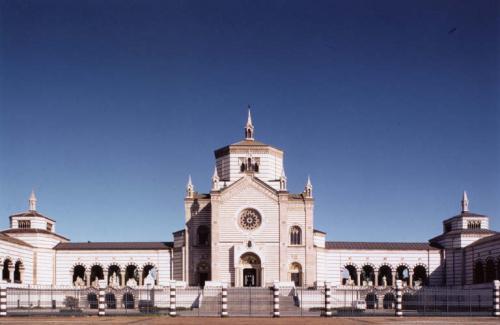 Nicolini, Toni, Cimitero Monumentale, Milano. Dalla serie Architetture del Milanese, stampa cibachrome/ilfochrome / carta, CC BY-NC-ND