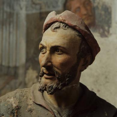 Del Comune, Attilio, dalla serie Doppio ritratto, pellicola in rullo diapositiva, CC BY-NC-ND