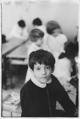 Mazzocchi, Gianfranco, dalla serie La Casa del Sole, Milano 1968, gelatina bromuro d'argento / carta, CC BY-NC-ND
