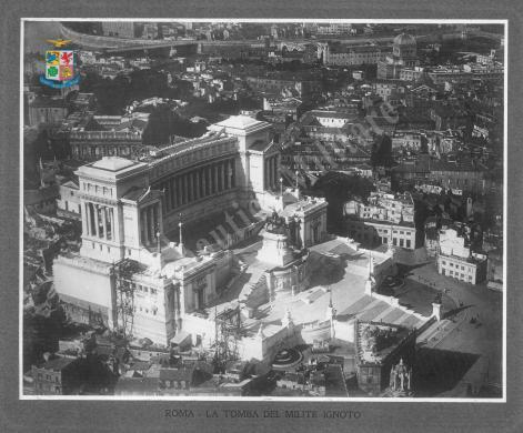 Visione alata della guerra d'Italia. Roma: la tomba del milite ignoto, Gelatina ai sali d'argento, CC BY-SA