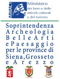 Logo Soprintendenza Archeologia Belle Arti e Paesaggio per le province di Siena Grosseto e Arezzo (SABAP-SI), Mibact