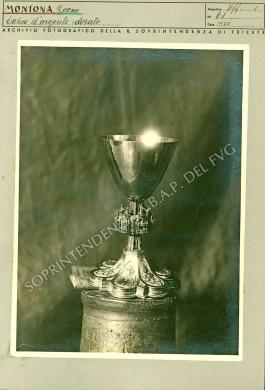 R. Soprintendenza di Trieste - Coll. d' Ufficio, Montona prov. Istria - Duomo - Tesoro - Calice d' argento dorato del sec. XVI, 1920, CC BY-NC-ND
