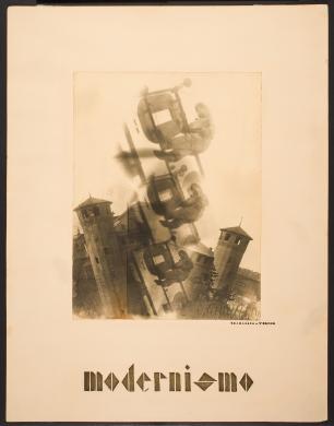 Gramaglia, Maggiorino, Modernismo, Fotomontaggio: positivo su carta alla gelatina bromuro d'argento, CC BY-SA