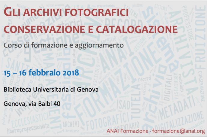 Gli archivi fotografici: conservazione e catalogazione