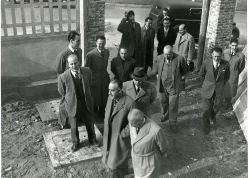 R. Bertazzini, Inaugurazione degli alloggi Inacasa Torino, 1950, CC BY-NC-ND