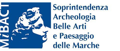 Logo Soprintendenza Archeologia, Belle Arti e Paesaggio delle Marche, Mibact
