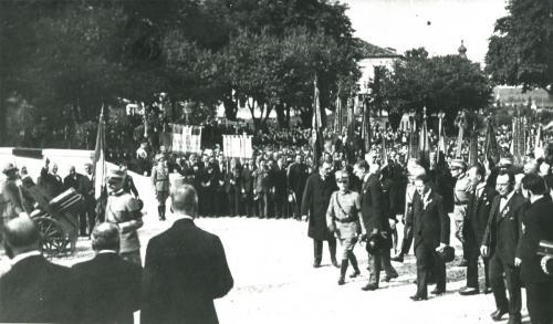 Re Vittorio Emanuele III torna a Martignacco nel 1924, CC BY-SA