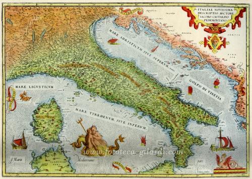 Castaldi, Jacopo, Italia, XIX secolo, cartografia, CC BY-NC-ND