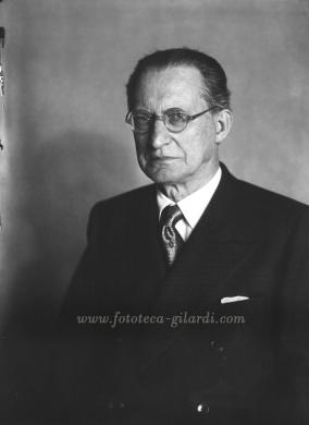 Carell, Ghitta, Alcide De Gasperi, 1950 circa, Fotografia, CC BY-NC-ND
