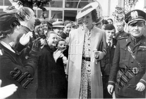 Massai, Adolfo (1888/ 1968), La principessa di Piemonte in visita a Prato : 19 maggio 1939 (Casa della madre e del bambino), 19/05/1939, gelatina/ carta, CC BY-NC-ND
