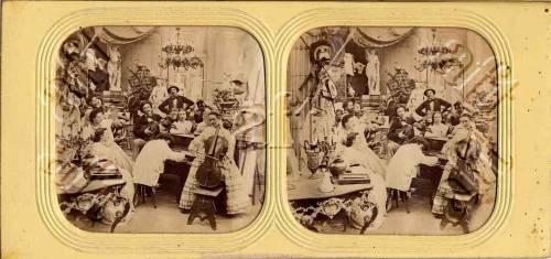 Fotografo non identificato, Magasin pittoresque, 1855 circa, albumina/ carta, CC BY-NC-ND