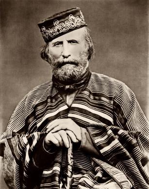 Fratelli Alinari, Giuseppe Garibaldi, 1870 circa, negativo su lastra al collodio, CC BY-NC-ND