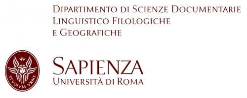 Logo Dipartimento di Scienze Documentarie, Linguistico-Filologiche e Geografiche della Sapienza, Università di Roma
