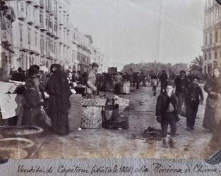 Raccolta di fotografie di NAPOLI del 1800