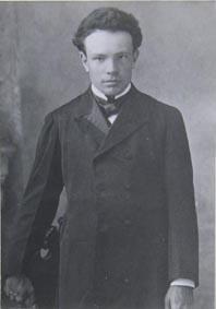 """Ottorino Respighi / (1903)"", 1903, Gelatina ai sali d'argento, CC BY-SA"