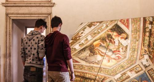 Samaritani, Andrea, Ferrara - Castello Estense - Sala dell'aurora, 2015, CC BY-SA
