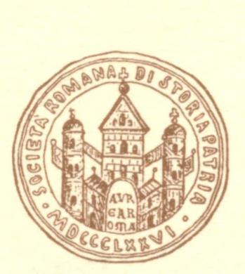 Logo Società Romana di Storia Patria