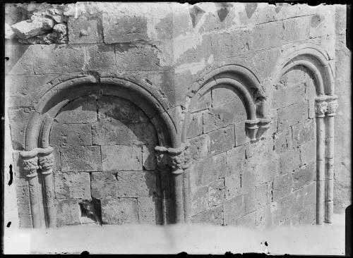 Cagliari, Duomo, ante 1906. Archeggiatura pareti esterne, CC BY-NC-ND